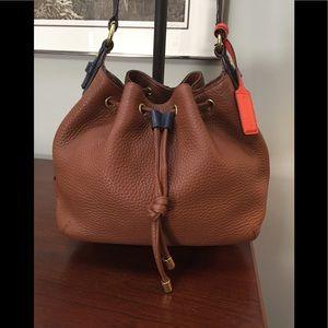 Coach Legacy Drawstring Crossbody Bag